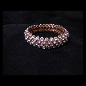 Faux Diamond Rose Gold bracelet